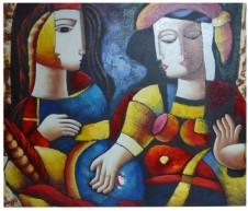 Cubism Inspired - 50cm x 60cm