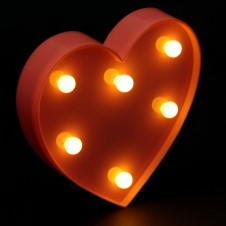 Decorative LED Light - Heart Shaped Light