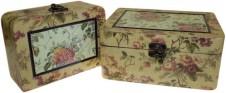 Keepsake Box  Med Victorian Set of 2