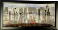 London Framed HD 3D Iconic Prints