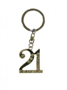 Diamante Keyring 21st