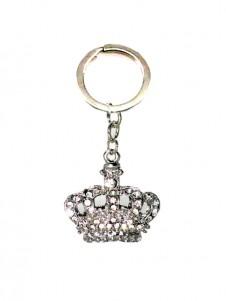 Diamante  Crown Keyring