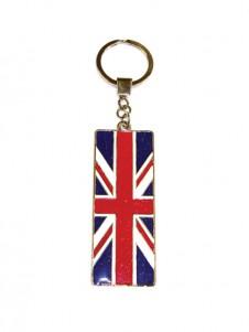 Great Britain Union Jack Flag Keyring
