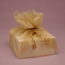 Organza wraps for larger gifts