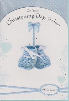 Christening Day Godson