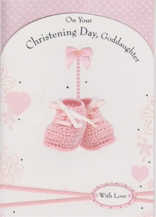 On Your Christening Day Goddaughter