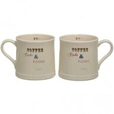 Coffee and Kisses Mugs