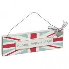 Happy Happy Days: Union Jack Plaque