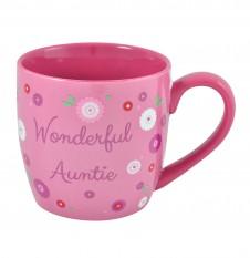 Wonderful Auntie - 11oz Quality Ceramic Mug
