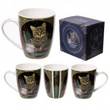 Cat Fortune Teller New Bone China Mug