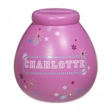 Personalised Money Pot  CHARLOTTE
