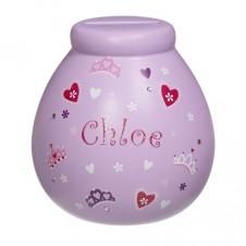 Personalised Money Pot  CHLOE