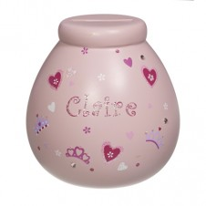 Personalised Money Pot  CLAIRE