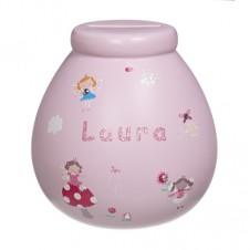 Personalised Money Pot LAURA