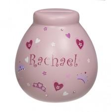 Personalised Money Pot RACHAEL