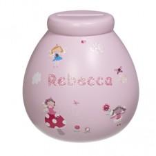 Personalised Money Pot REBECCA
