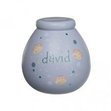 Personalised Money Pot DAVID