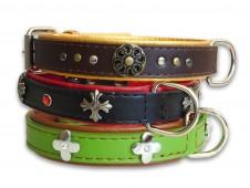 Ornament Leather Collar