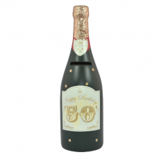 50th Birthday Bottle Of Dreams Champagne Money Bottle