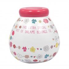 Personalised Pot of Dreams - Flowers
