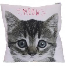 Decorative MEOW Kitten Cat Cushion
