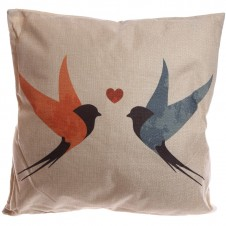 Cushion with Insert - Swallows Design