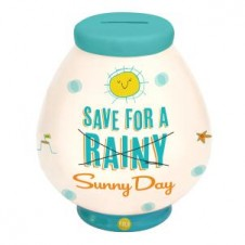 Save For A Sunny Day Money Pot  by YOLO