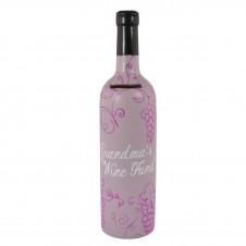 Grandmas Wine Fund - Bottle Of Dreams Money Box