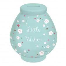 Little Wishes Money Pot: Floral