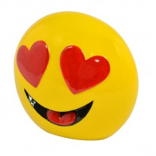 Emoji Money Bank Smiling Face with Heart-Shaped Eyes