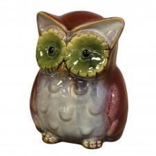 Ceramic Owl Money Boxes - Red