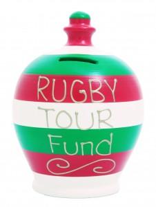 Terramundi Rugby Tour Fund Stripe Money Pot