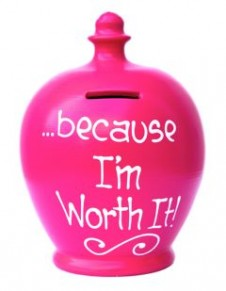 Terramundi Money Pot Because Im Worth It