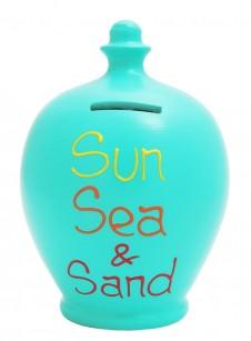 Terramundi Sun Sea Sand Money Pot