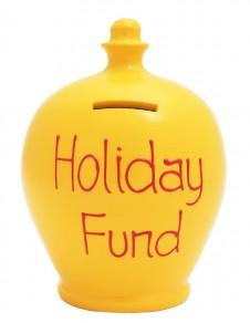 Terramundi Holiday Fund Money Pot Yellow