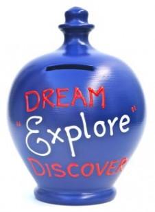 Terramundi Dream Explore Discover Money Pot