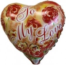 To My Love Foil Balloon