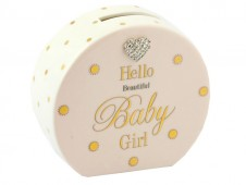 Mad Dots Money Bank Pink - Baby Girl