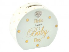 Mad Dots Money Bank Blue - Baby Boy