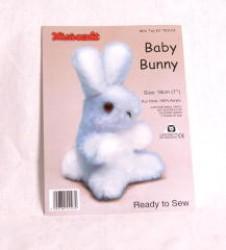 Cuddly Blue Bunny 6 inch