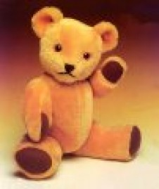 Big Softy Teddy 18 inch Jointed