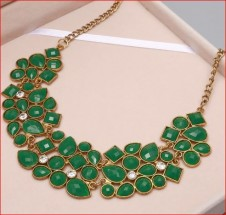 Gem Statement Necklaces