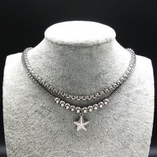 Fashionable Stainless Steel Choker Necklace