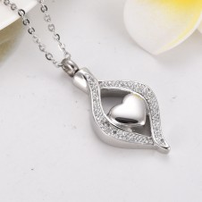 Stunning Keepsake Teardrop Heart
