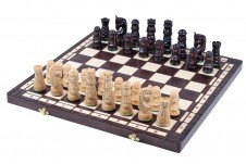Decorative Folding Wooden Chess Sets GIEWONT