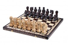 Decorative Folding Wooden Chess Set GLADIATOR