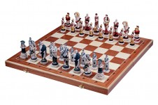 Decorative Folding Wooden Chess Sets SPARTACUS
