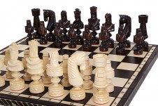 Decorative Folding Wooden Chess Sets CESAR  LARGE