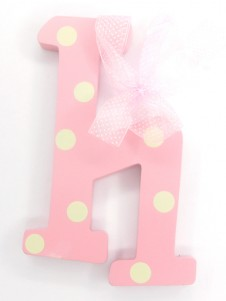 Hanging Letters Baby Girl H