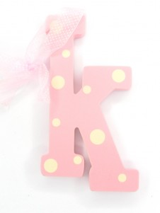 Hanging Letters Baby Girl K